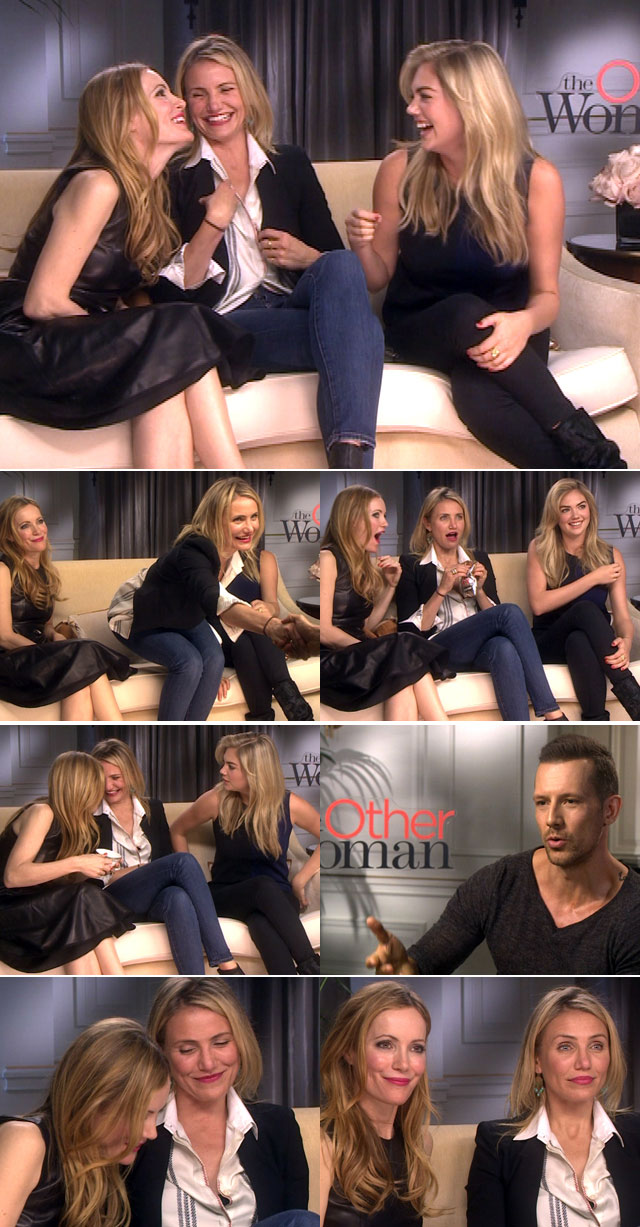 The Other woman cast interviewd on Top Billing
