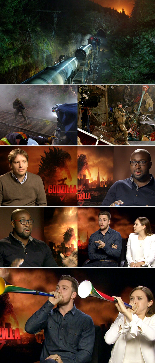 Top Billing interviews the cast of Godzille