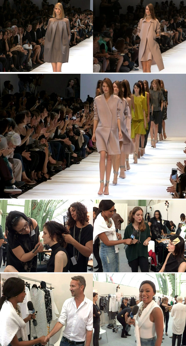 Paris fashion week with Guy Leroche on Top Billing