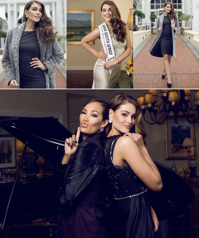 Top Billing features Miss South Africa Rolene Strauss