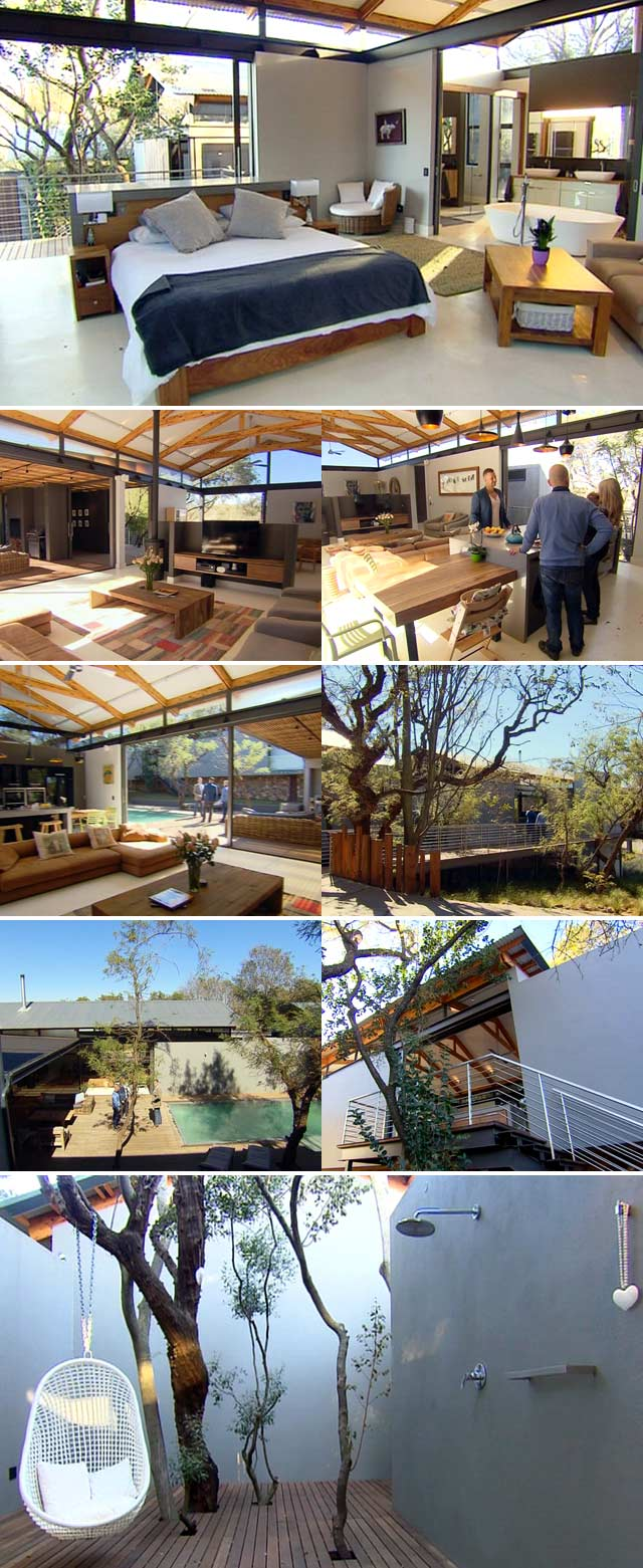 Top Billing features an indigenous forest of a home in Pretoria