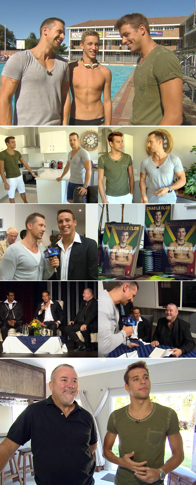 Chad le Clos' unbelievable new book on Top Billing
