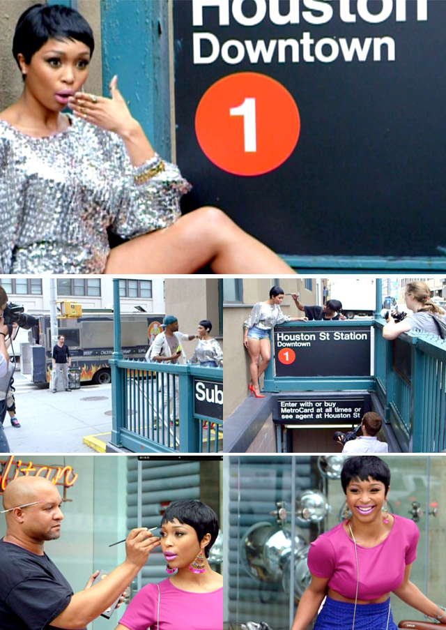 Top Billing joins Minnie Dlamini on a cover shoot in NYC