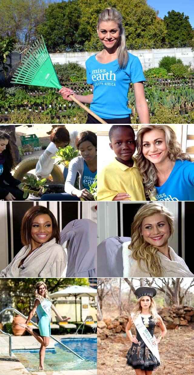 Top Billing meets Miss Earth Ilze Saunders