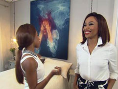 Bonang and Tumi Voster's guide to running in heels