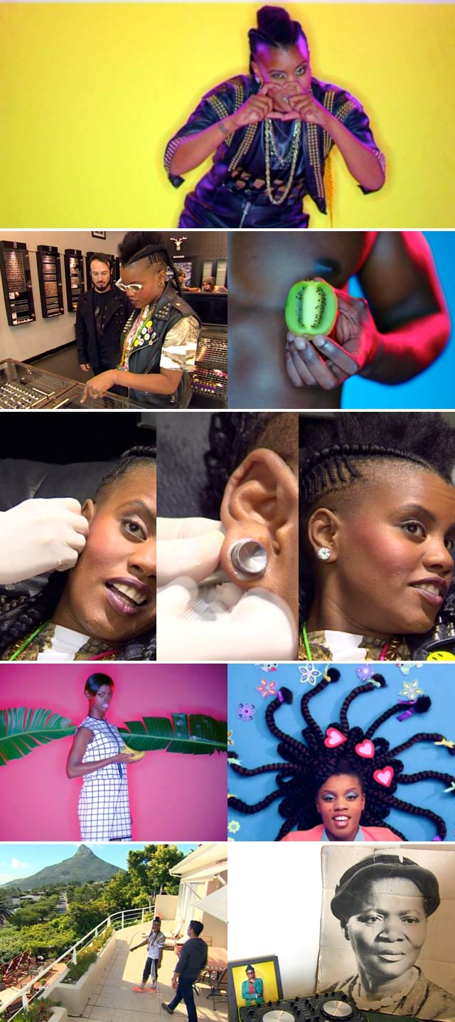 Top Billing goes to the piercing parlour with Toya Delazy