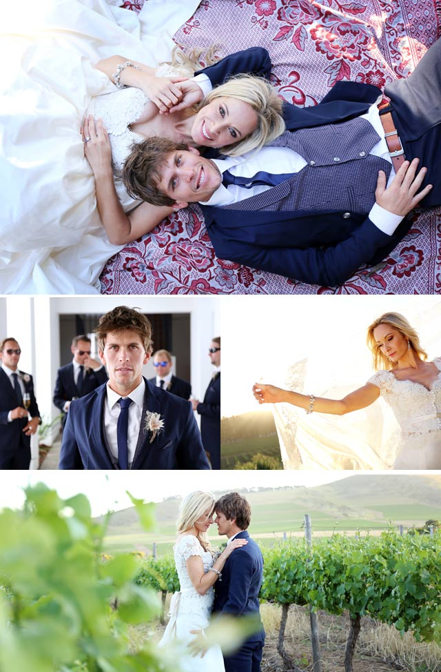 Top Billing features the wedding of Vanessa Haywood and Ryan Sandes