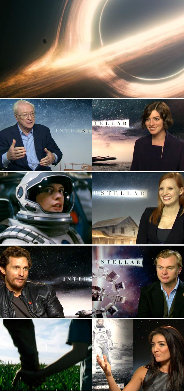 Top Billing meets the cast of Interstellar