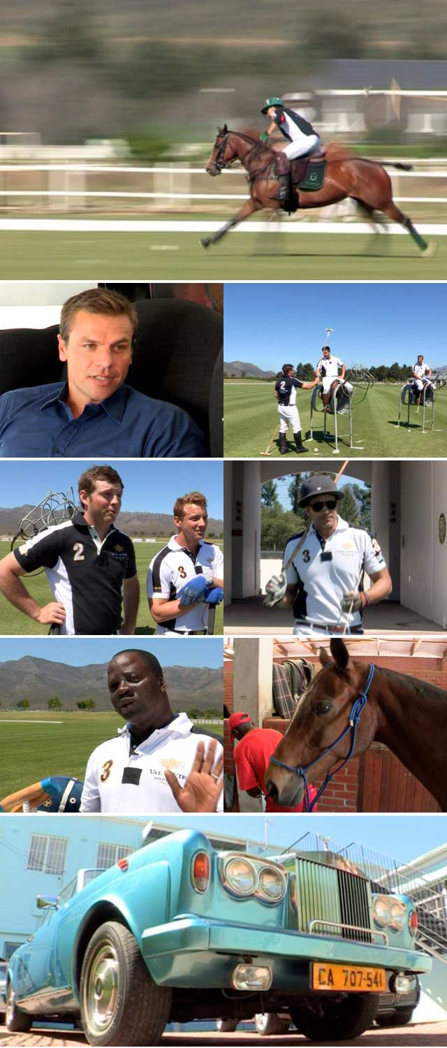 Top Billing gets a lesson in Polo