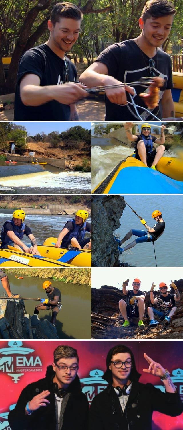 Top Billing goes rafting, abseiling and braaiing with Locnville