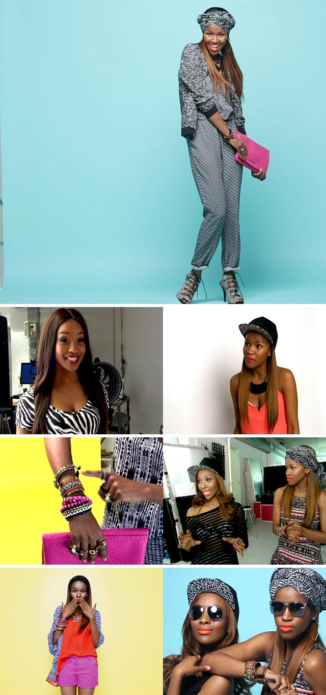 Fashionistas Pearl Modiadie and Melody Molale show us how they would style summer