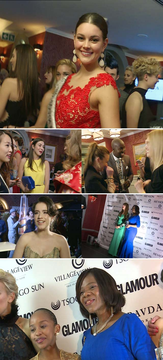 Top Billing attends the Glamour Woman of the Year awards 2014
