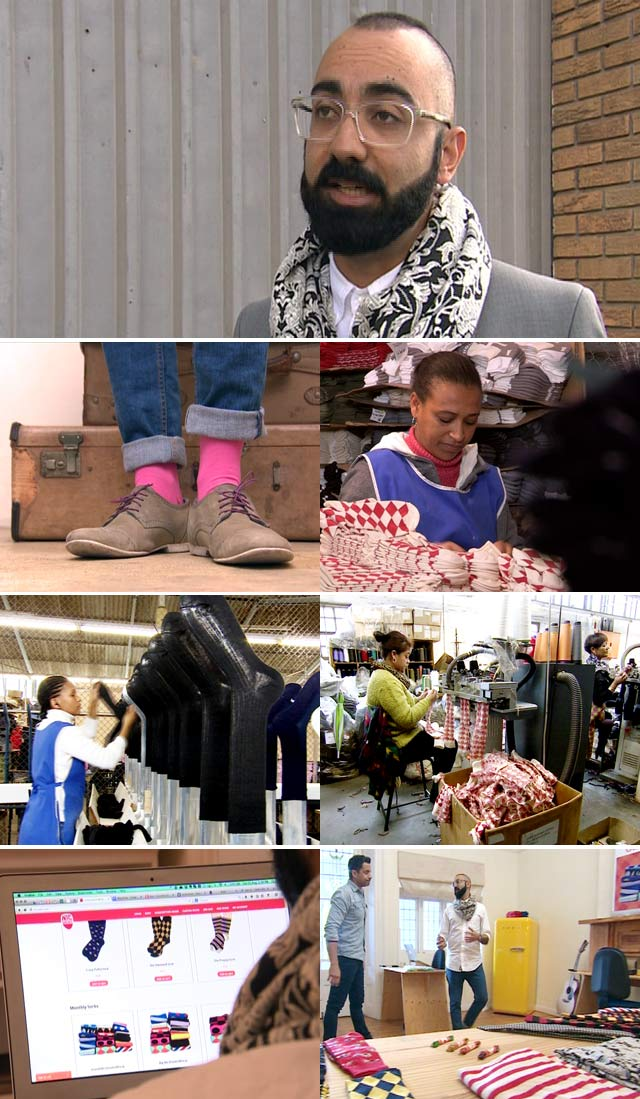 Top Billing meets the genius behind Nic Socks