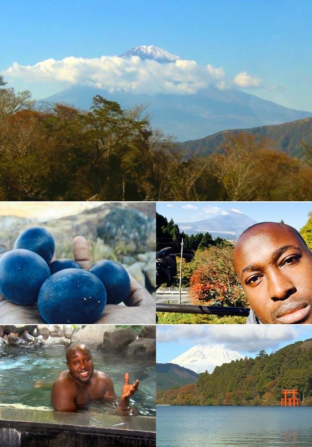 With the blessing of the Mhere family we bring you part two of Simba's Japanese adventure where he eats blacks eggs and takes a bath in a spa heated by a volcano in Hakone