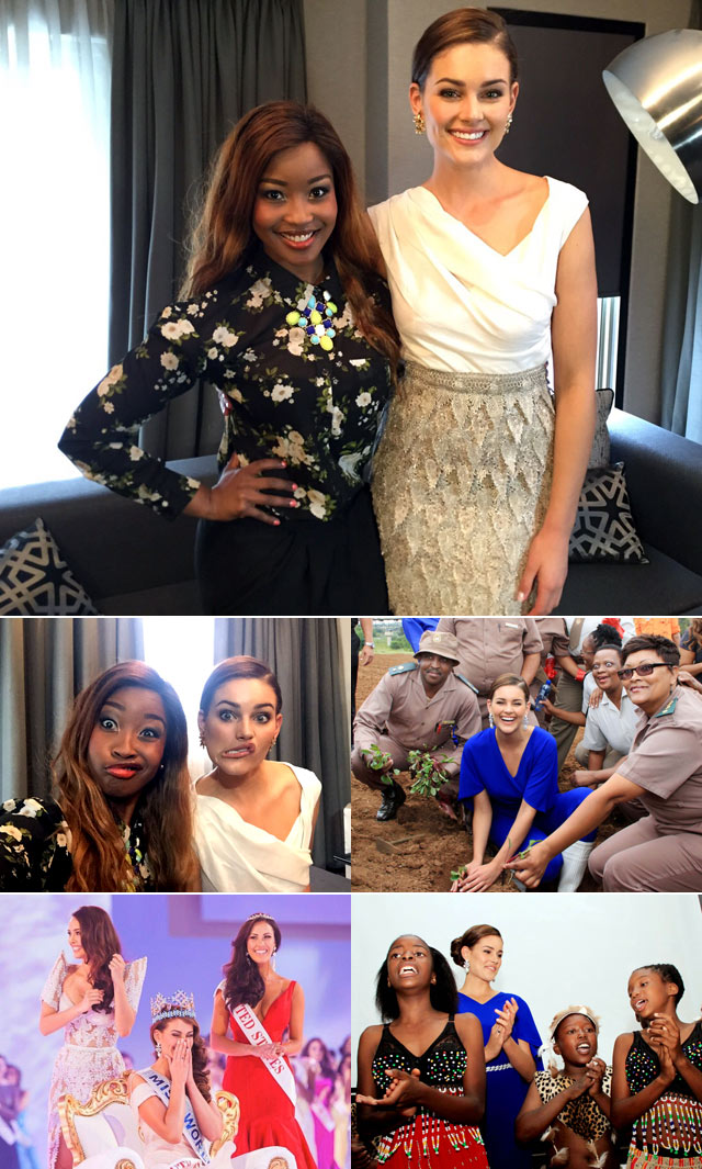Top Billing interviews Miss World Rolene Strauss