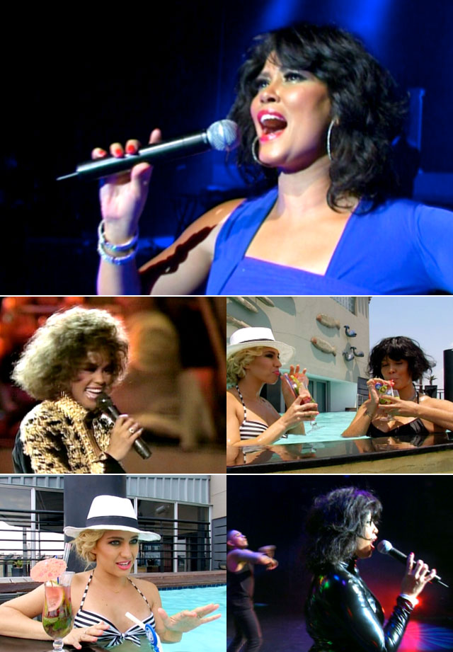 The WHitney Houston Show staring Belinda Davids featured on Top Billing