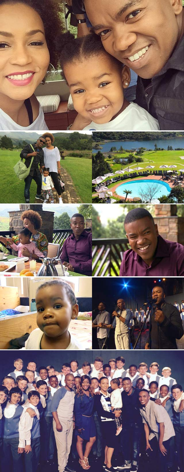 Top Billing goes to the Drakensberg with Loyiso Bala and family
