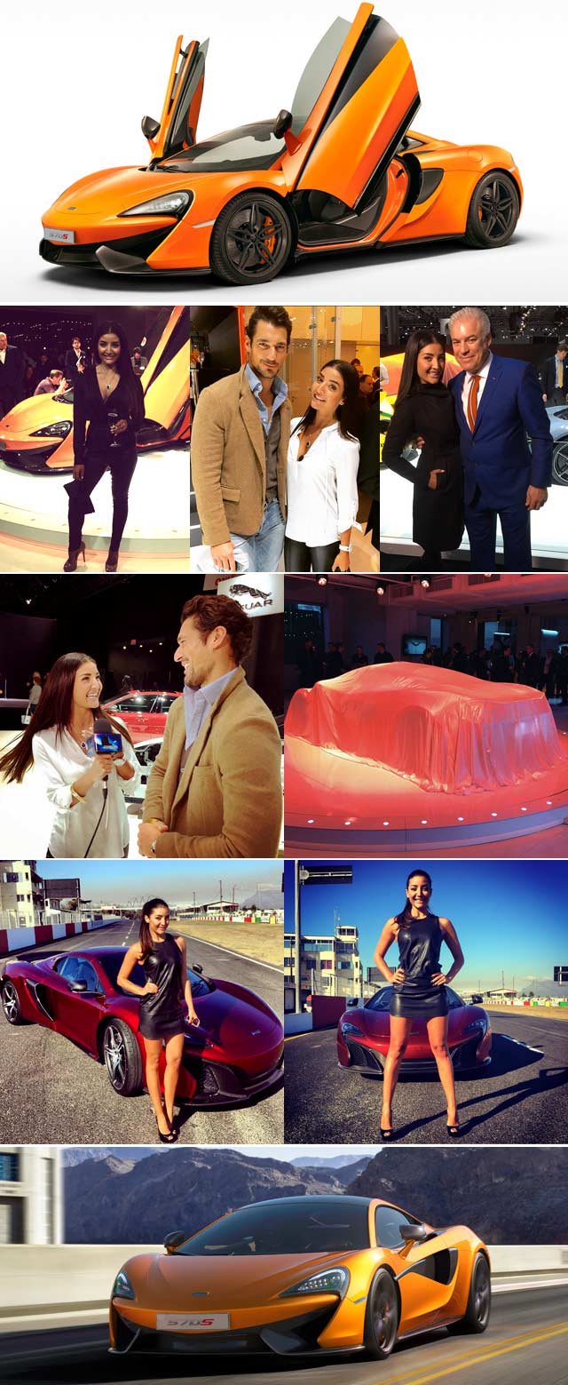 Top Billing checks out the McLaren V8 Coupe launch in New York