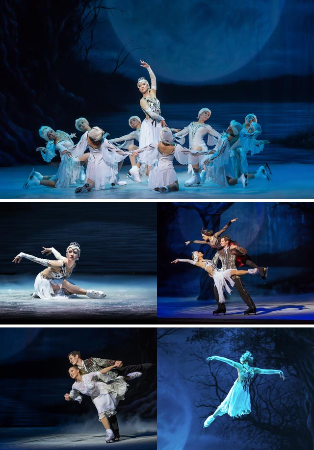 Top Billing meets the cast of Swan Lake on ice