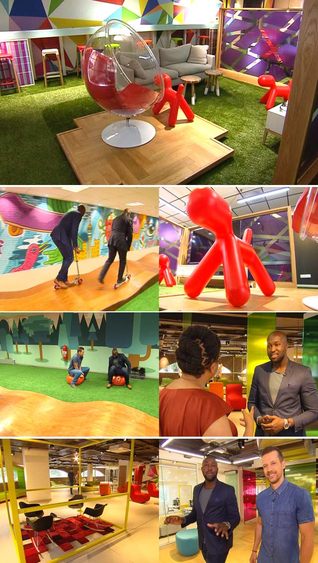 Standard Bank Playroom on top Billing