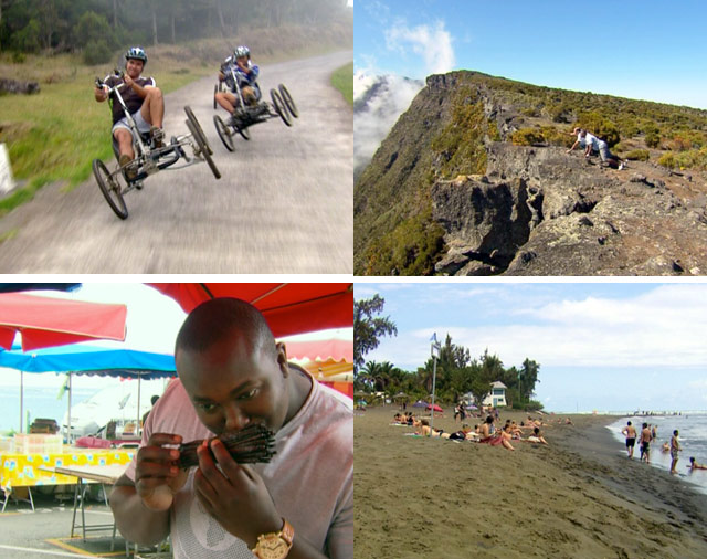 Top billing travels to Reunion Island