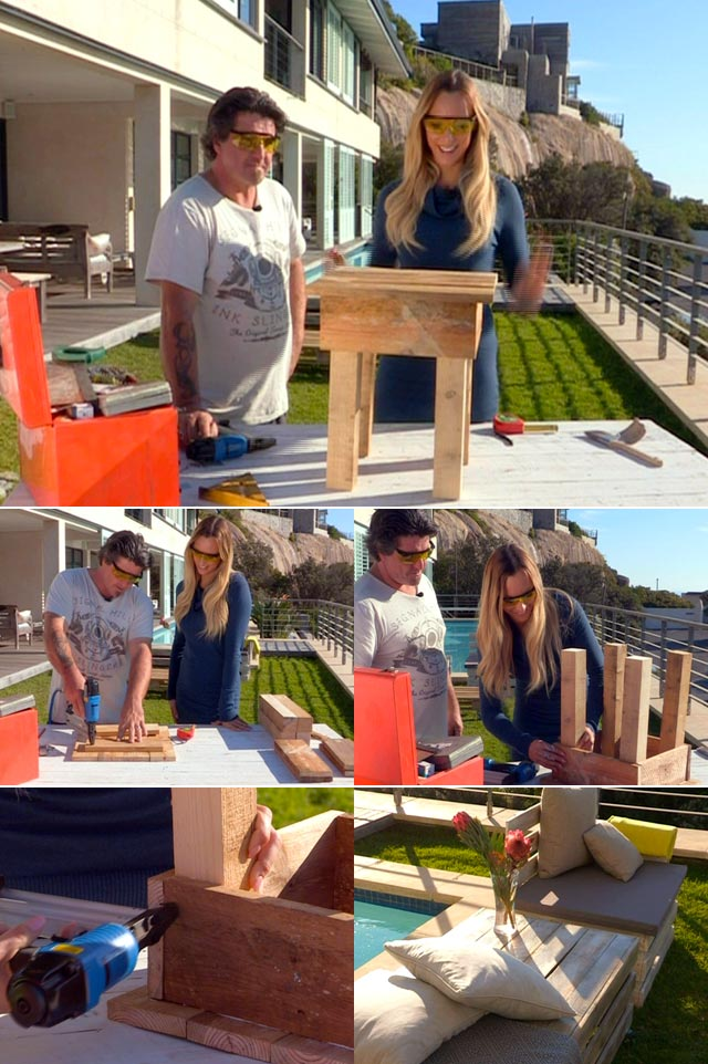 Pallet furniture on Top Billing