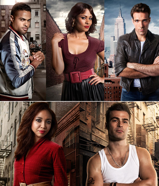 West Side Story cast on Top Billing