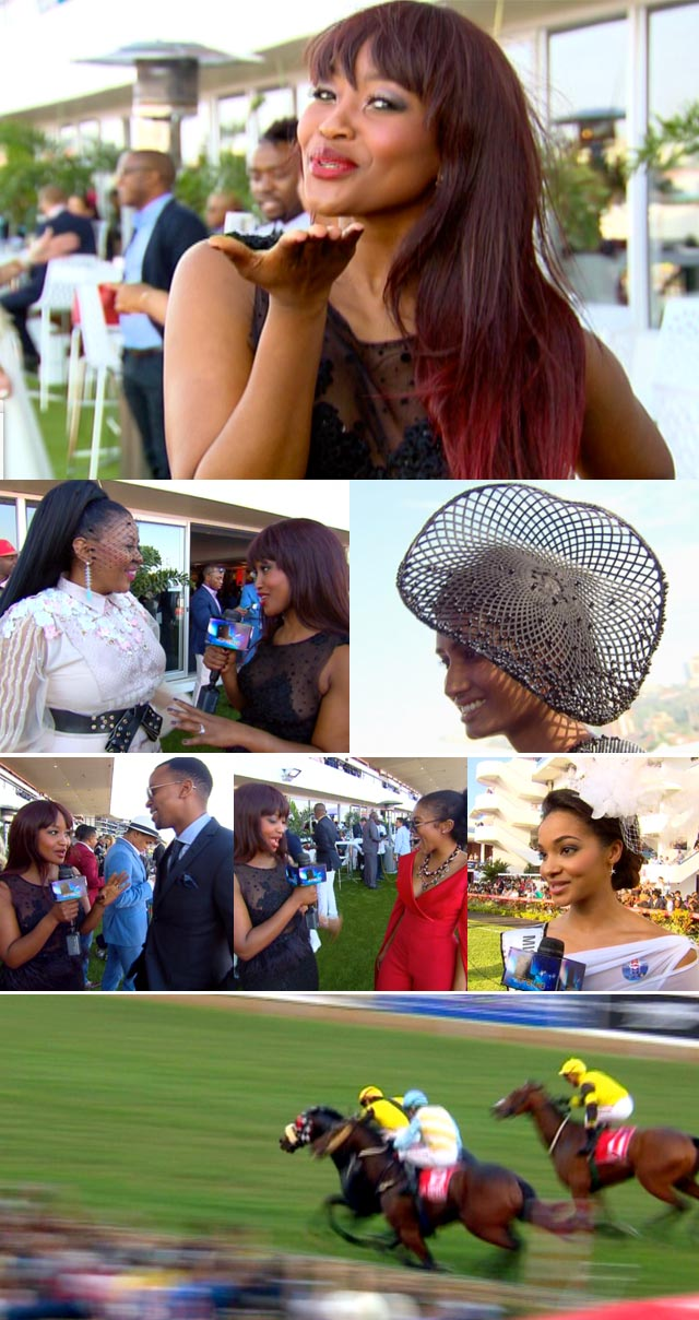 Top Billing attends the Vodacom Durban July