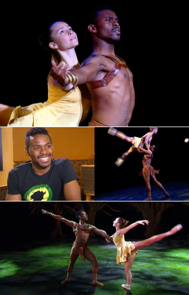 Dancer Adile Ndlovu on Top Billing