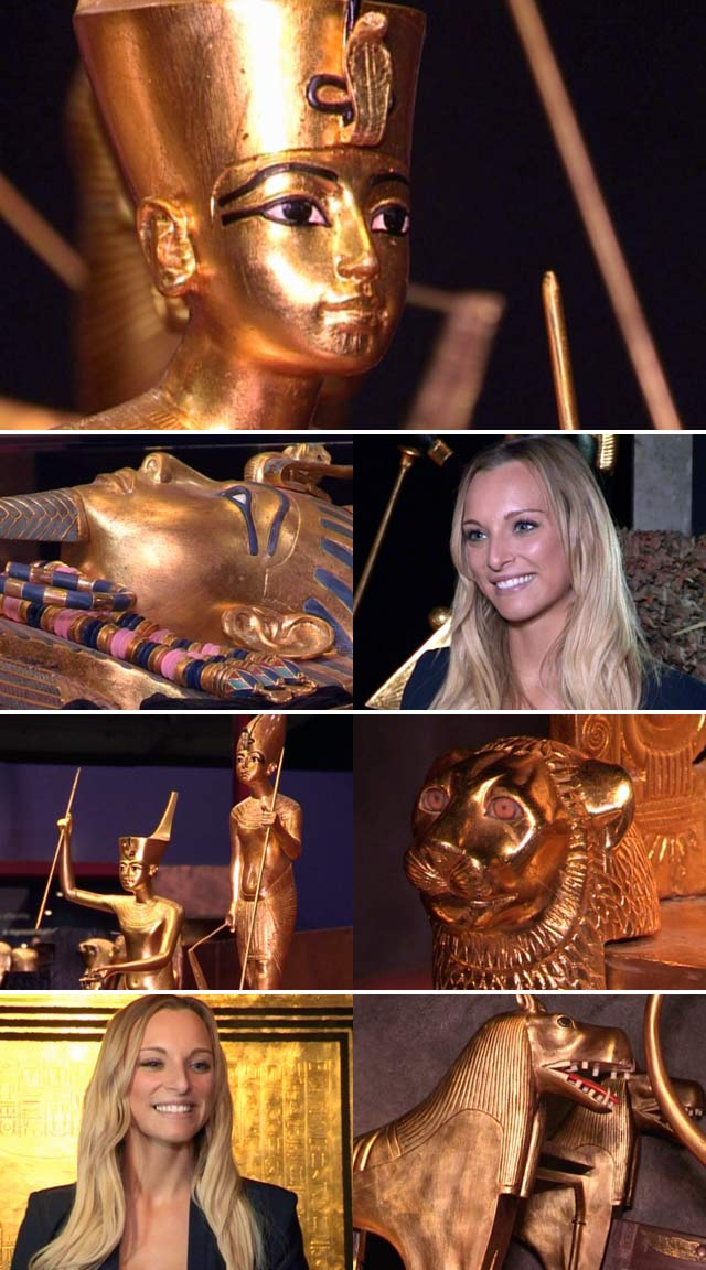 Tutankhamun exhibition in Cape Town