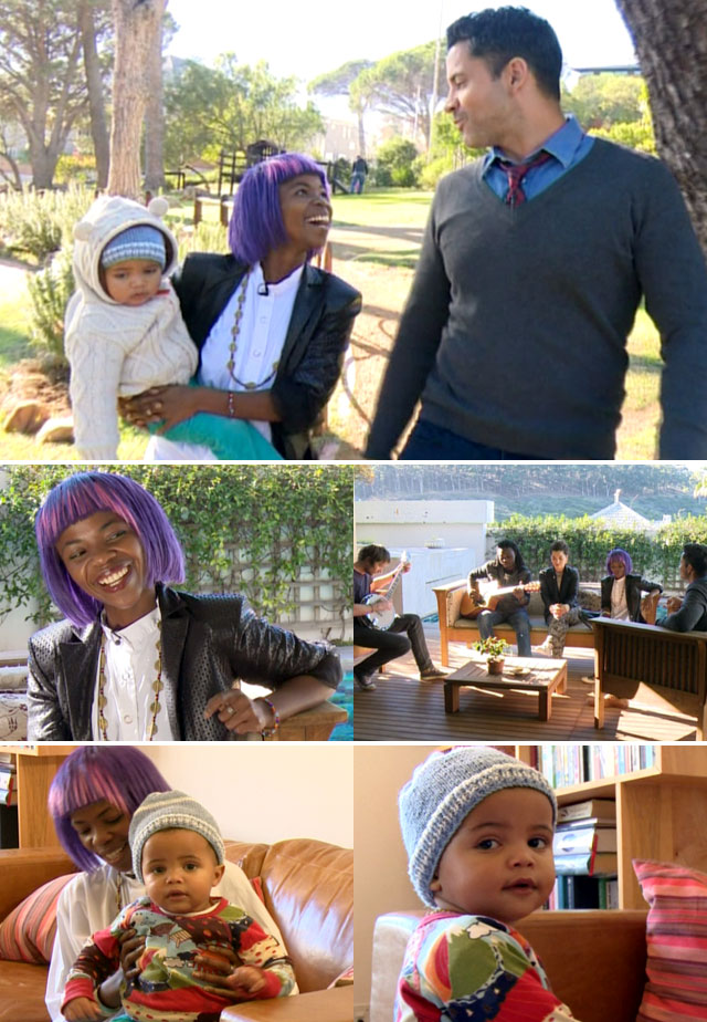 Top Billing interviews Zolani Mahola and meets her baby Zazi