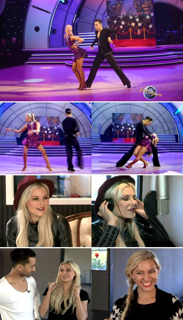 Top Billing interviews Karlien van Jaarsveld about Strictly come dancing