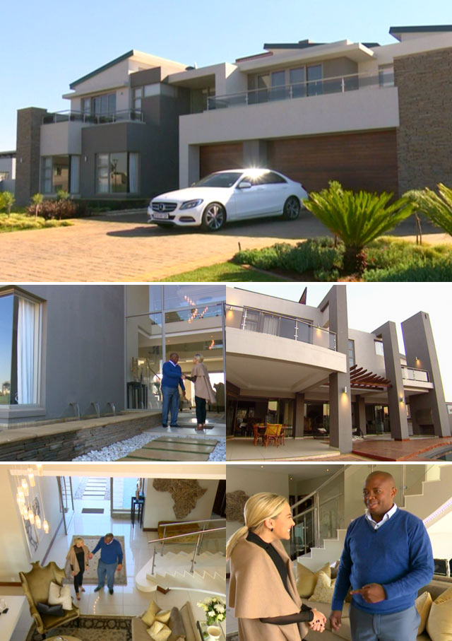 Top Billing features the Mahlaba family home