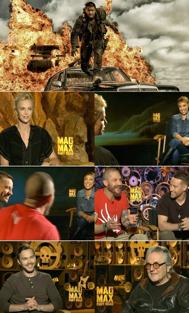 Mad Max cast interviewed on Top Billing