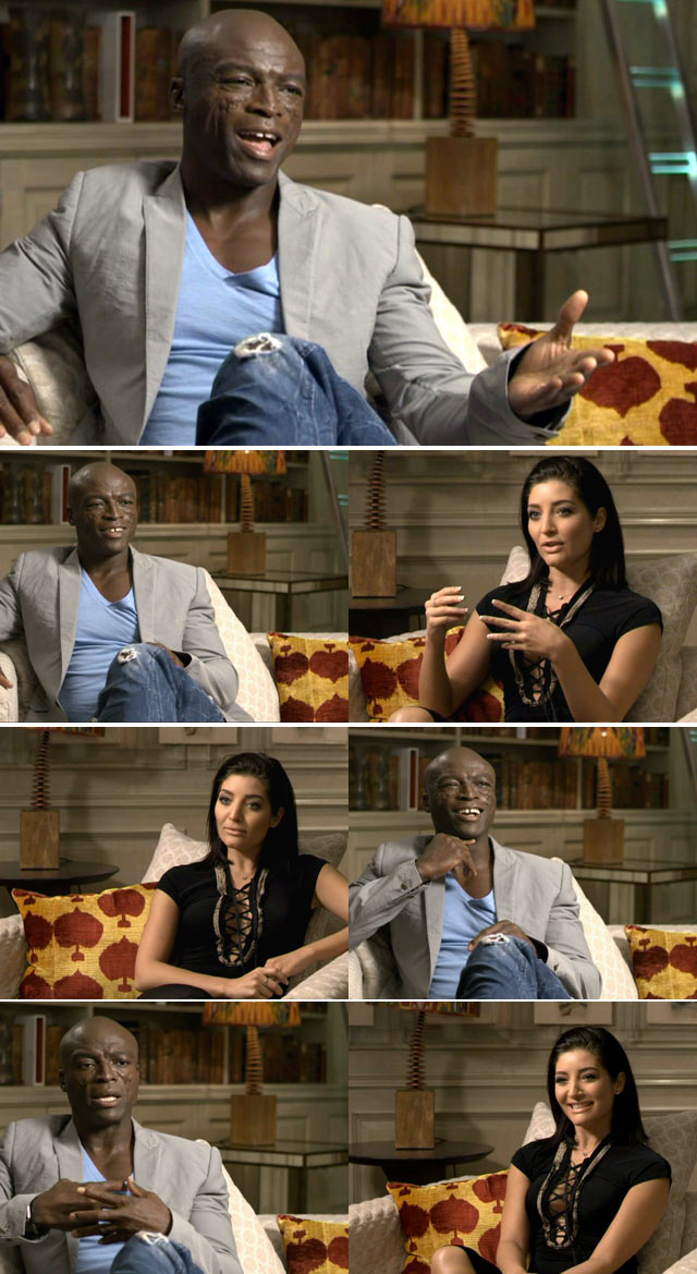 Top billing interviews Seal