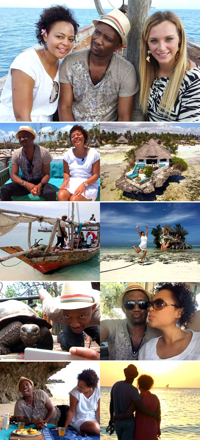 Top Billing visits Zanzibar with David Kau