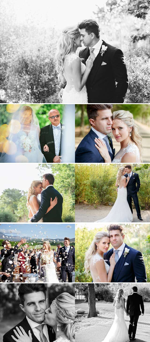 Wynand Olivier's top billing wedding