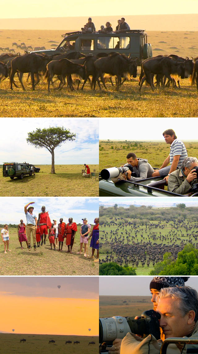 Top Billing visits the Maasi Mara for a photographic safari