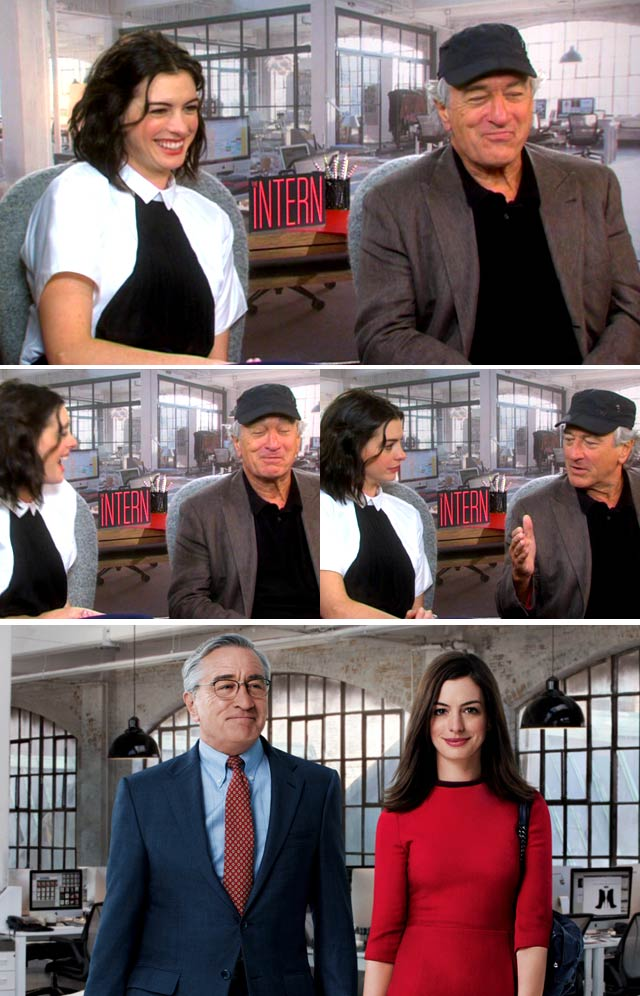 Top Billing interviews the cast of The Intern