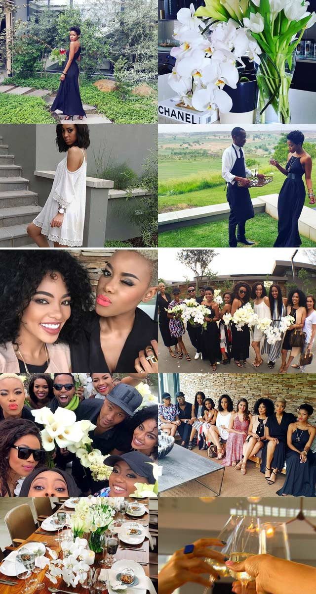 A summer fashion party with Bonang