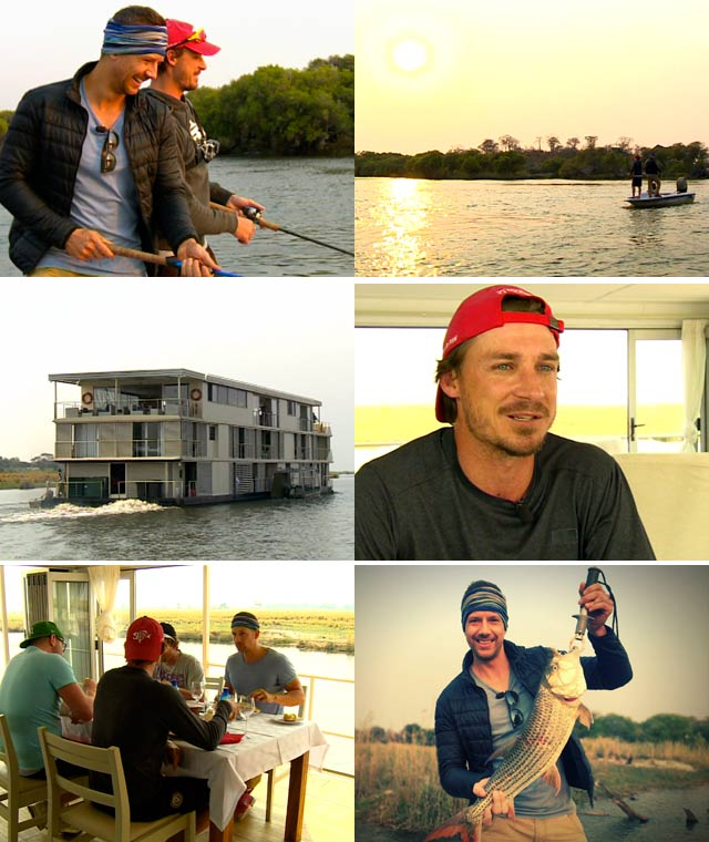 Top billing takes Dale Steyn fishing