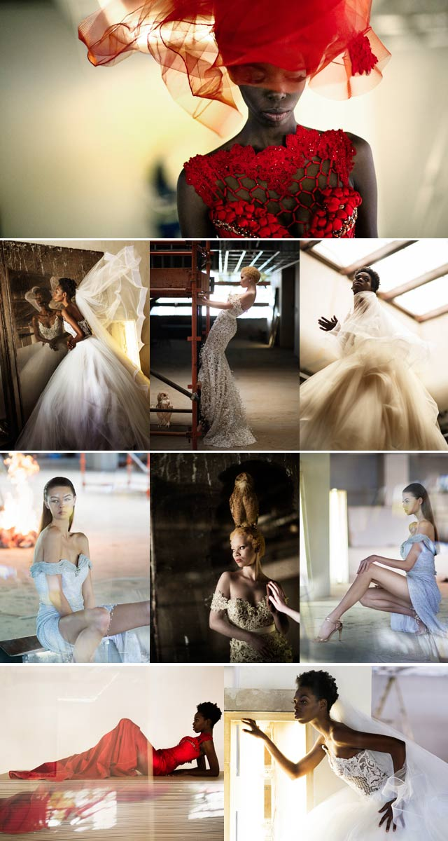 Gert Johan Coetzee bridal collection