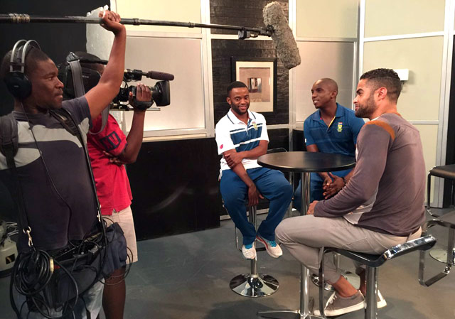 Top Billing shares cricketers Themba Bavuma and Eddie Leie's Isidingo debut