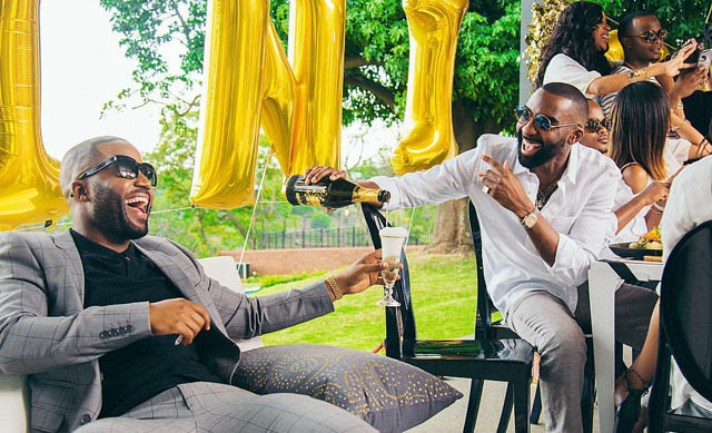 Riky Rick Christmas Party on Top Billing