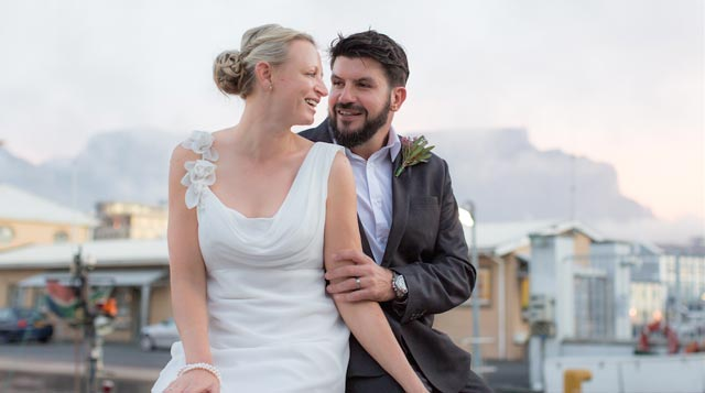 Riaan Manser wedding on Top Billing