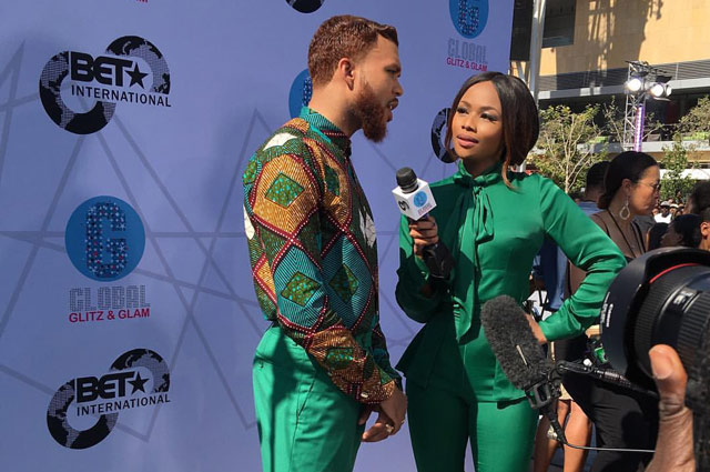 Bonang at BET Awards