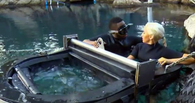 Uzalo goes shark cage diving on Top Billing