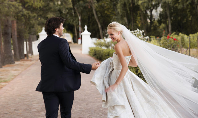 Luc and Mari wedding on Top Billing 3