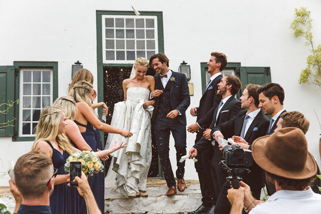 Luc and Mari wedding on Top Billing 4