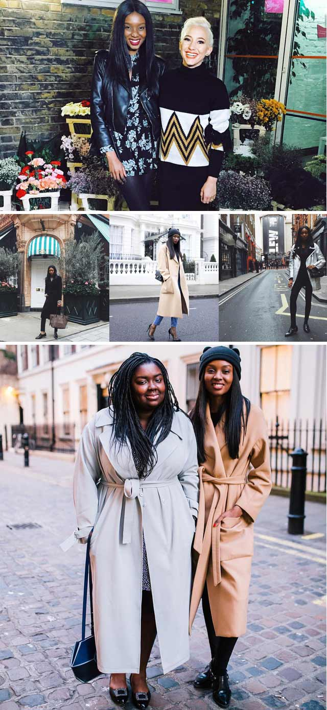 London fashion bloggers on Top Billing